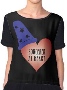 Sorcerer at Heart Chiffon Top