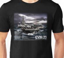 Aircraft carrier Theodore Roosevelt Unisex T-Shirt