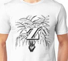 Plant Alphabet Letter Z Unisex T-Shirt