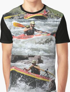 White Water Rafting Shirt Graphic T-Shirt