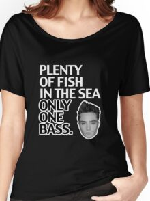 Top Seller - Gossip Girl: Plenty of Fish in the Sea. Only One Bass.  Women's Relaxed Fit T-Shirt