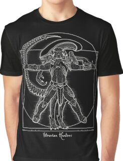 Vitruvian Hunters ( Negative) Graphic T-Shirt