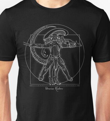 Vitruvian Hunters ( Negative) Unisex T-Shirt