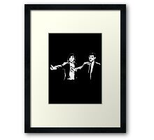Phelps and Katie - Pulp Fiction Framed Print