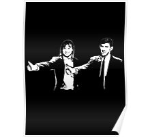 Phelps and Katie - Pulp Fiction Poster