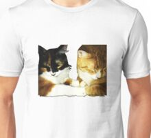 The cutest cat couple Unisex T-Shirt