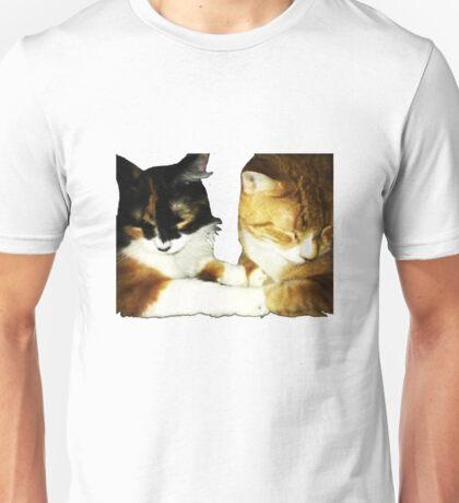 The cutest cat couple Unisex T-Shirt