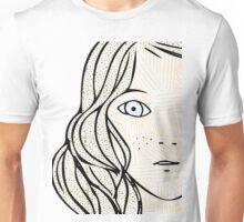 Girl with the sad eyes Unisex T-Shirt
