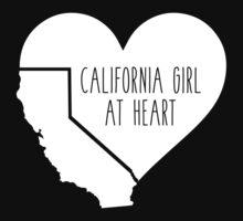 California Girl at Heart Kids Tee