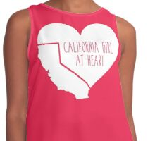 California Girl at Heart Contrast Tank