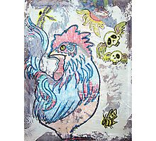 Rooster Road Photographic Print