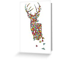 Oh Dear - Young Buck Greeting Card