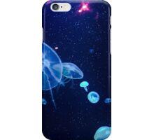Glowing jellyfish iPhone Case/Skin