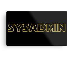 Systems Administrator Metal Print