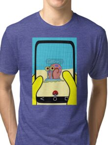 SpongeBob GO! Gary Snail Tri-blend T-Shirt