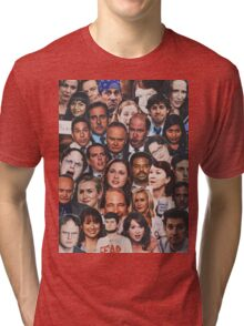 The Office Collage  Tri-blend T-Shirt