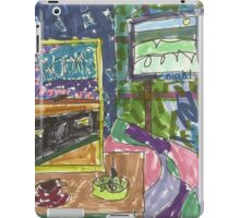 "Drawing: ""Film Noir I (2014)"" by artcollect iPad Case/Skin"