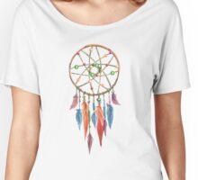 Dreamcatcher Watercolor Women's Relaxed Fit T-Shirt
