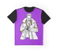 Captain Boomerang PURPLE BACKGROUND Graphic T-Shirt