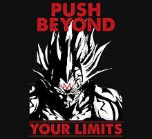 super saiyan vegeta push beyond your limits - RB Unisex T-Shirt