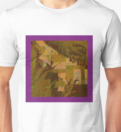 Topographical Art: Maps & Apps Series Unisex T-Shirt