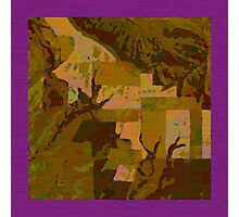 Topographical Art: Maps & Apps Series Photographic Print
