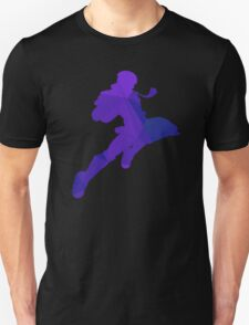 Captain Falcon - Fractal Knee of Justice Unisex T-Shirt