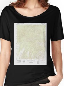 USGS TOPO Map Arizona AZ Willow Mountain 20111031 TM Women's Relaxed Fit T-Shirt