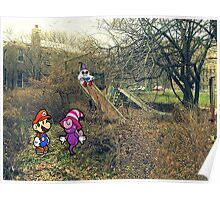 Mario Ghost Park Poster
