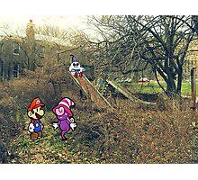 Mario Ghost Park Photographic Print