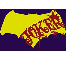 Imposter Batman-Joker Photographic Print