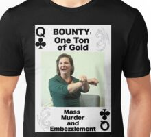 Wanted QUEEN of CLUBS Unisex T-Shirt