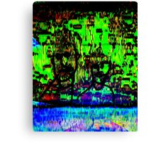 green dudes Canvas Print