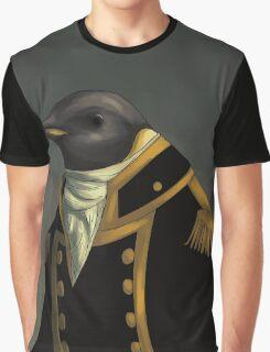 Captain Penguin  Graphic T-Shirt