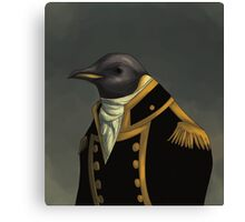 Captain Penguin  Canvas Print