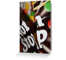 Non Stop Chocolate Greeting Card