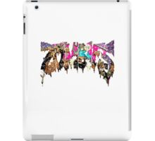 Flatbush Zombies - A Laced Odyssey - Logo design 3 iPad Case/Skin