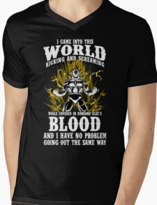 super saiyan vegeta shirt - RB00125 Mens V-Neck T-Shirt