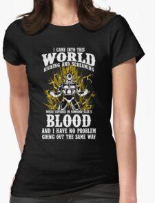 super saiyan vegeta shirt - RB00125 Womens Fitted T-Shirt