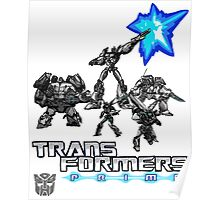Transformers- Team Prime Poster