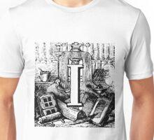 Renaissance Alphabet Letter I Unisex T-Shirt