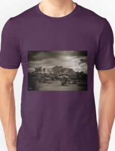 Supes in Sepia Unisex T-Shirt
