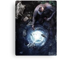 Brought To Light Canvas Print