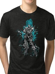 super saiyan goku shirt - RB00207 Tri-blend T-Shirt