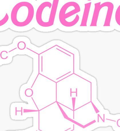 Codeine chem Sticker