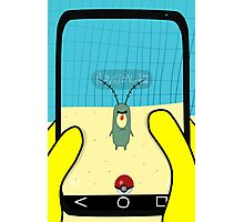 SpongeBob GO! Plankton Photographic Print
