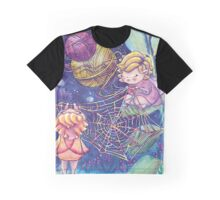 Rainbow Knitting Fairy Graphic T-Shirt