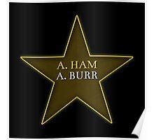 A. Ham A. Burr Poster