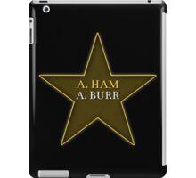 A. Ham A. Burr iPad Case/Skin
