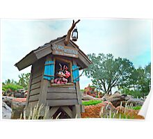 Splash Mountain This Way Poster